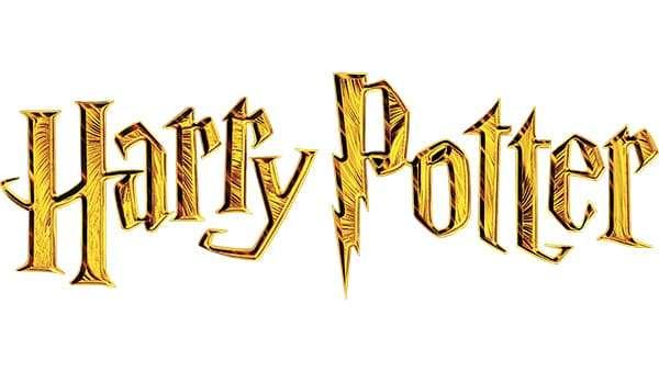 Harry Potter Logo 2001 to 2002
